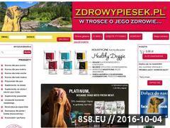 Miniaturka domeny www.zdrowypiesek.pl