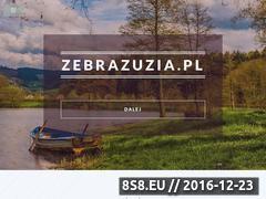 Miniaturka domeny www.zebrazuzia.pl
