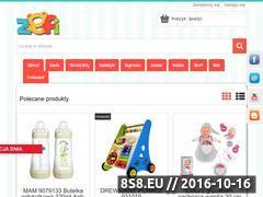 Miniaturka www.zefi.pl (Ciekawy sklep z zabawkami)