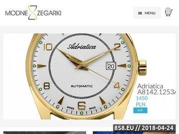 Zrzut strony Doskonałość i pasja Zegarek-Timex.pl