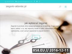 Miniaturka zegarki-atlantic.pl (Zegarek Atlantic)