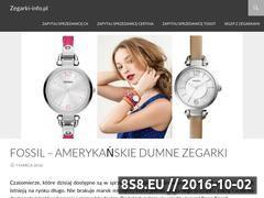 Miniaturka domeny zegarki-info.pl