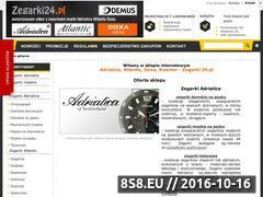 Miniaturka domeny www.zegarki24.pl