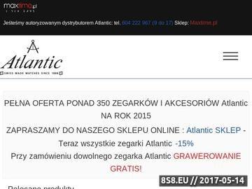 Zrzut strony Zegarki Atlantic