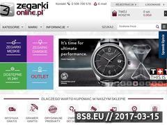 Miniaturka zegarkionline.pl (Zegarki online)