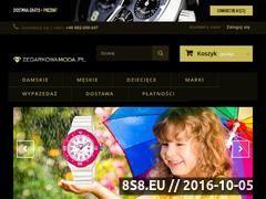 Miniaturka domeny www.zegarkowamoda.pl