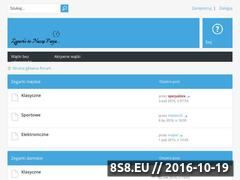 Miniaturka domeny zegarmistrz-forum.pl
