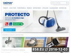 Miniaturka domeny www.zelmer.pl