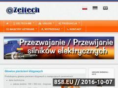 Miniaturka domeny www.zeltechme.pl