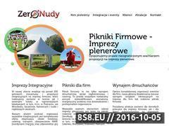 Miniaturka ZeroNudy - imprezy integracyjne dla firm, pikniki firmowe (www.zeronudy.com)