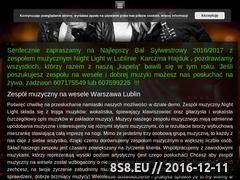 Miniaturka domeny www.zespol-muzyczny-nightlight.pl