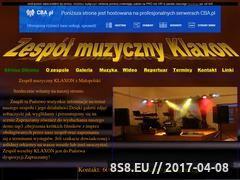 Miniaturka domeny zespolklaxon.cba.pl