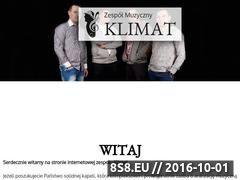 Miniaturka domeny zespolklimat.com.pl
