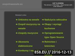 Miniaturka domeny www.zespolnawesele.eu