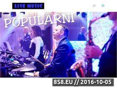 Miniaturka zespolomen.pl (<strong>zespół muzyczny</strong> z Krakowa - Popularni)