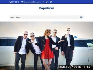 Zrzut strony Super zespół na wesele z krakowa POPULARNI