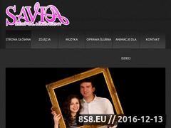Miniaturka domeny www.zespolsavio.pl