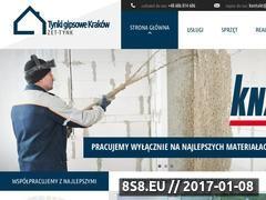 Miniaturka domeny www.zet-tynk.pl