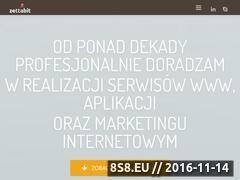 Miniaturka zettabit.pl (Zettabit Innowacje - produkty innowacyjne nowoczesne technologie)
