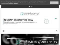 Miniaturka domeny www.ziarenkokawy.pl
