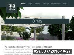 Miniaturka domeny zieleniprzestrzen.pl