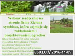 Miniaturka domeny zielonasymbioza.pl