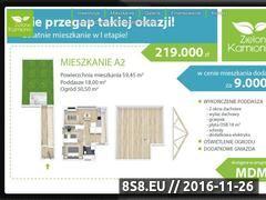 Miniaturka Kamionki developer (zielonekamionki.pl)