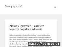 Miniaturka domeny zielonyjeczmien.com.pl