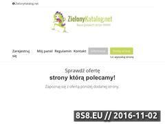 Miniaturka domeny www.zielonykatalog.net