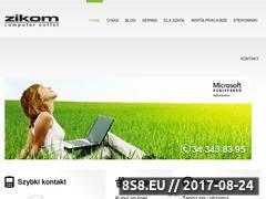 Miniaturka zikom.pl (ZIKOM - poleasingowe komputery DELL i HP)