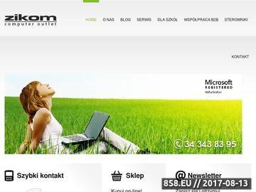Zrzut strony Komputery poleasingowe z gwarancją