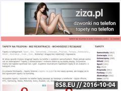 Miniaturka www.ziza.pl (Darmowe dzwonki na telefon)