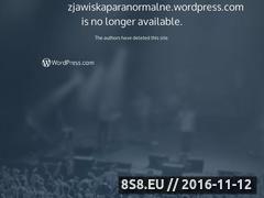 Miniaturka domeny zjawiskaparanormalne.wordpress.com