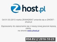 Miniaturka domeny www.zkwadrat.pl