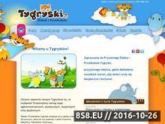 Miniaturka Zapewniamy odpowiednią opiekę nad dziećmi (zlobektygryski.pl)