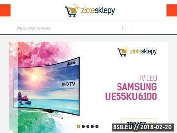Zrzut strony Katalog sklepów internetowych