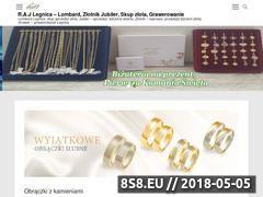 Miniaturka zlotnik-lombard.pl (Usługi Jubilerskie w Legnicy, złotnik w Legnicy)