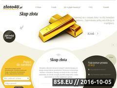 Miniaturka domeny www.zloto4u.pl