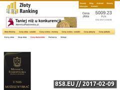 Miniaturka domeny zlotyranking.pl
