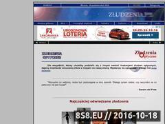 Miniaturka domeny www.zludzenia.pl
