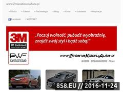 Miniaturka domeny zmianakoloruauta.pl