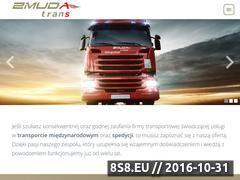 Miniaturka domeny zmudatrans.com.pl