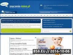Miniaturka domeny znaczenie-imion.pl