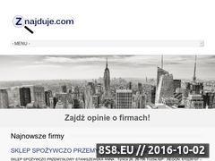 Miniaturka znajduje.com (Wyszukiwarka firm, baza firm oraz opinie o firmach)