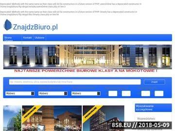 Zrzut strony Biura do wynajęcia Warszawa : Biuro do wynajęcia Warszawa: ZnajdzBiuro.pl :