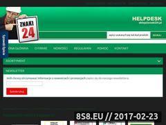 Miniaturka domeny www.znaki24.pl