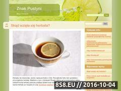 Miniaturka domeny www.znakpustyni.pl