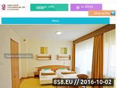 Miniaturka znpciechocinek.pl (Opis Sanatorium ZNP w Ciechocinku - pobyty oraz NFZ)