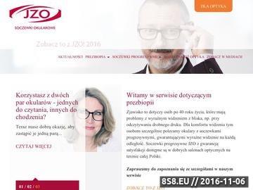Zrzut strony Soczewki progresywne
