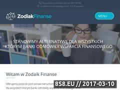 Miniaturka zodiakgroup.com.pl (Pożyczka pod zastaw mieszkania)